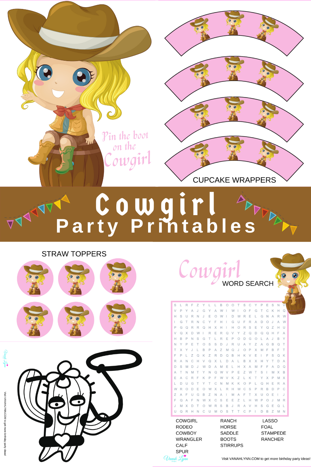 cowgirl 1st birthday party decoration ideas