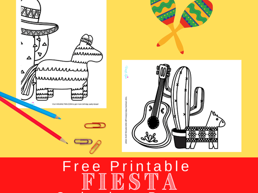 10 Printable Fiesta Coloring Pages -FREE - Download Now for Your Upcoming Fiesta!
