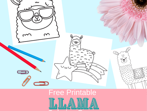 10 FREE Llama Coloring Pages: Print and Color Them Now!