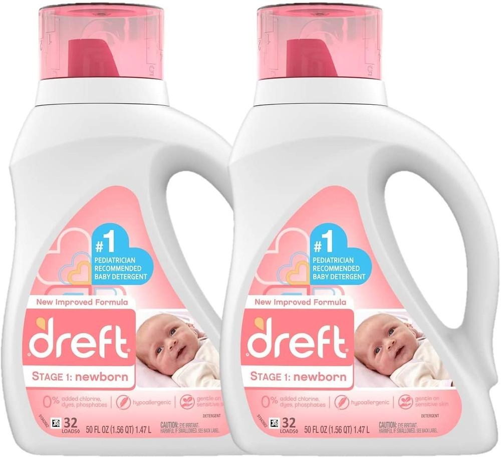 newborn baby shopping list: baby laundry detergent