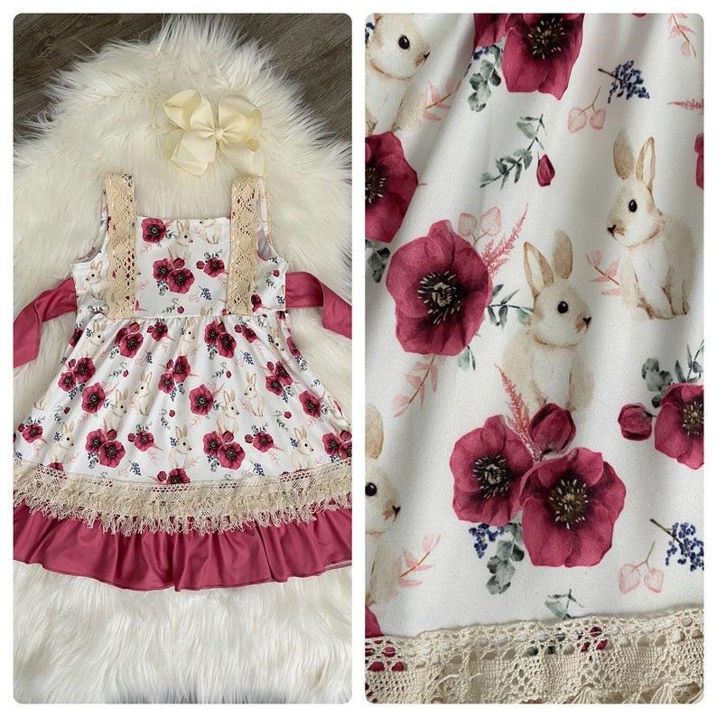 toddler girl bunny dress