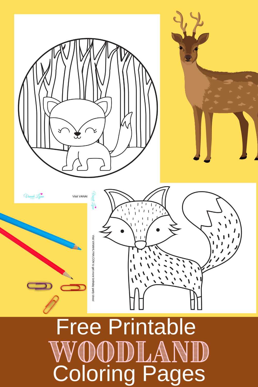 free printable rustic animal activity sheets