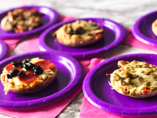 Family Pizza: English Muffin Pizza Recipe - For a Create Your Own Pizza Night!