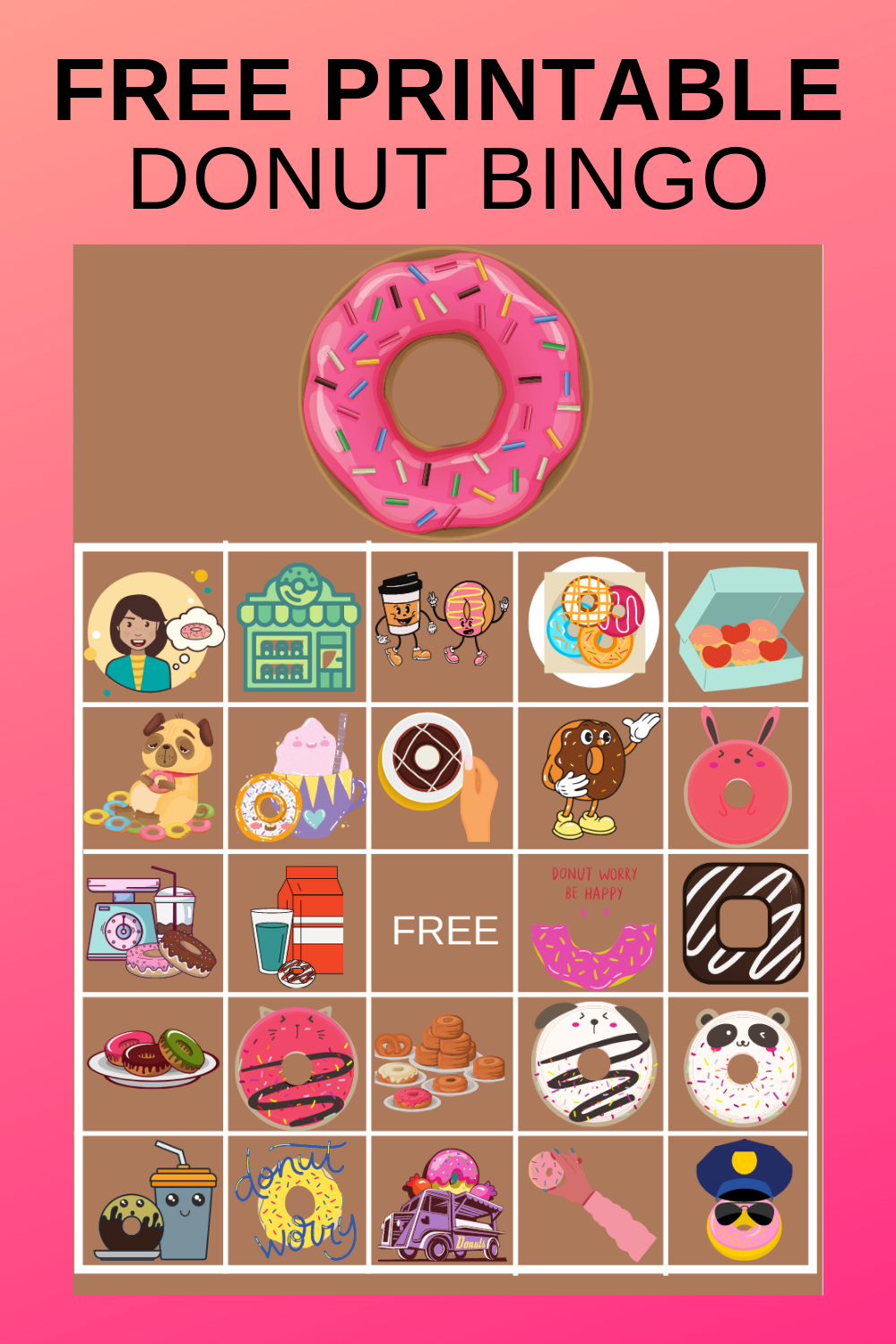 donut birthday party game ideas for preshoolers