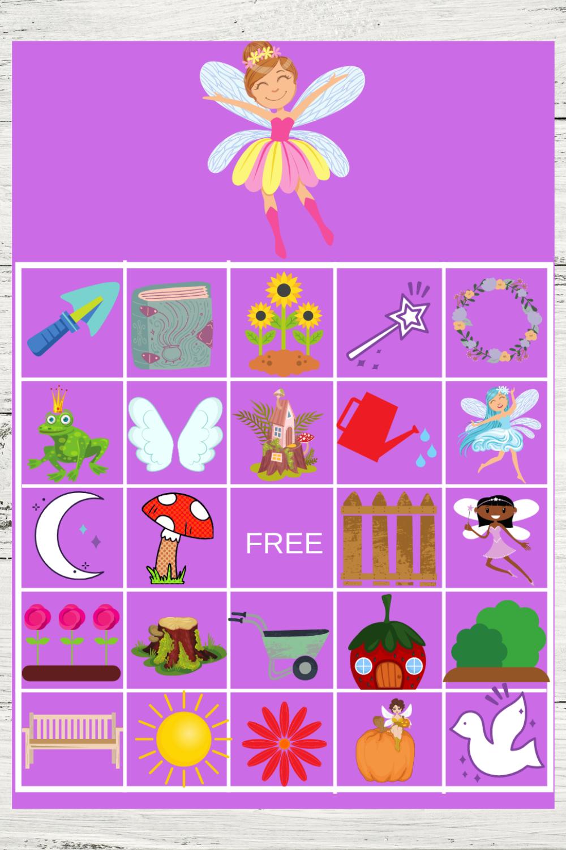 Free Printable Fairy Garden Birthday Party Ideas