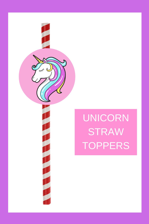 free unicorn birthday party decorations