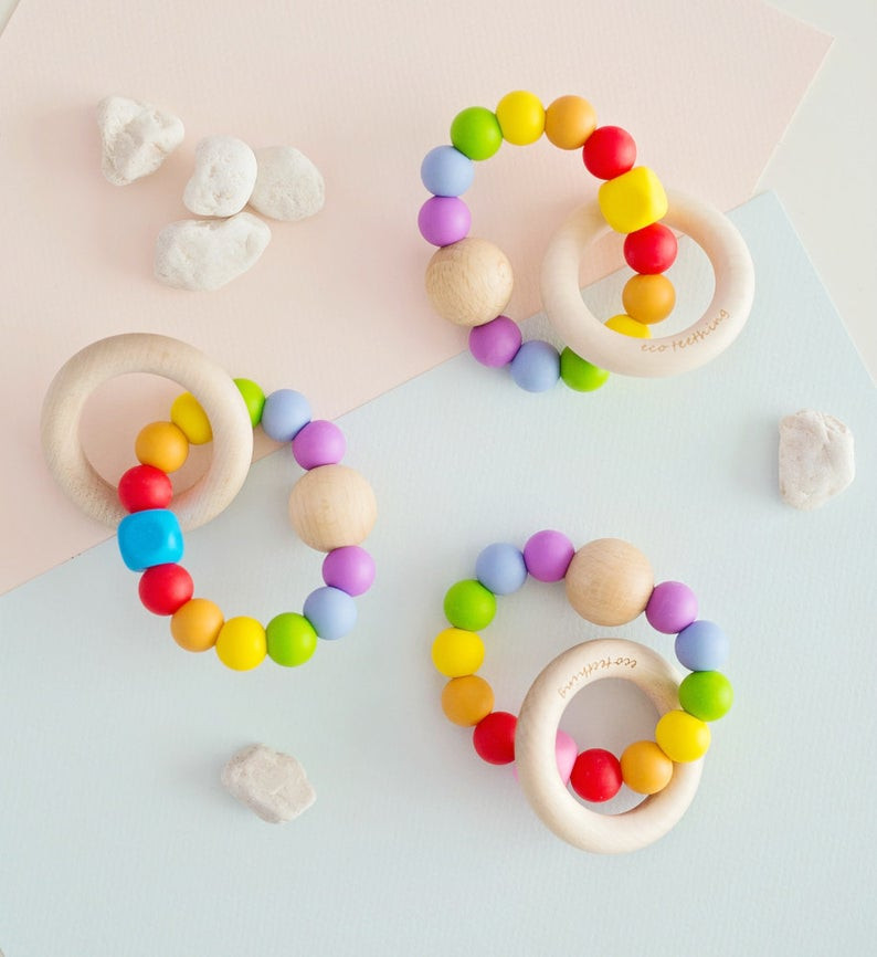 Baby girl rainbow accessories