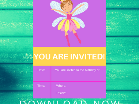 Fairy Garden Invite | Free Printable Fairy Garden Invitation | Fairy Garden Birthday Party Ideas