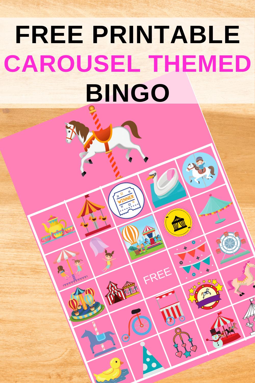printable bingo cards for kids