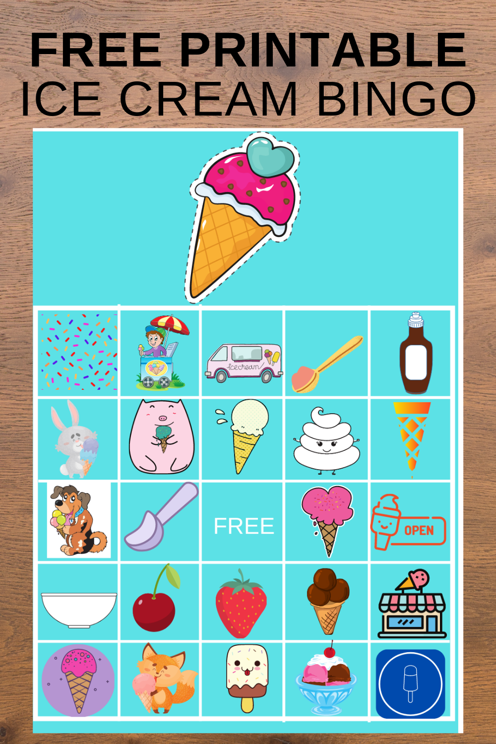 ice cream birthday party activity ideas for a toddler birthday party