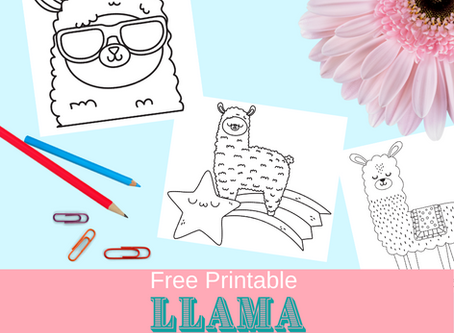Llama Coloring Pages | Free Download