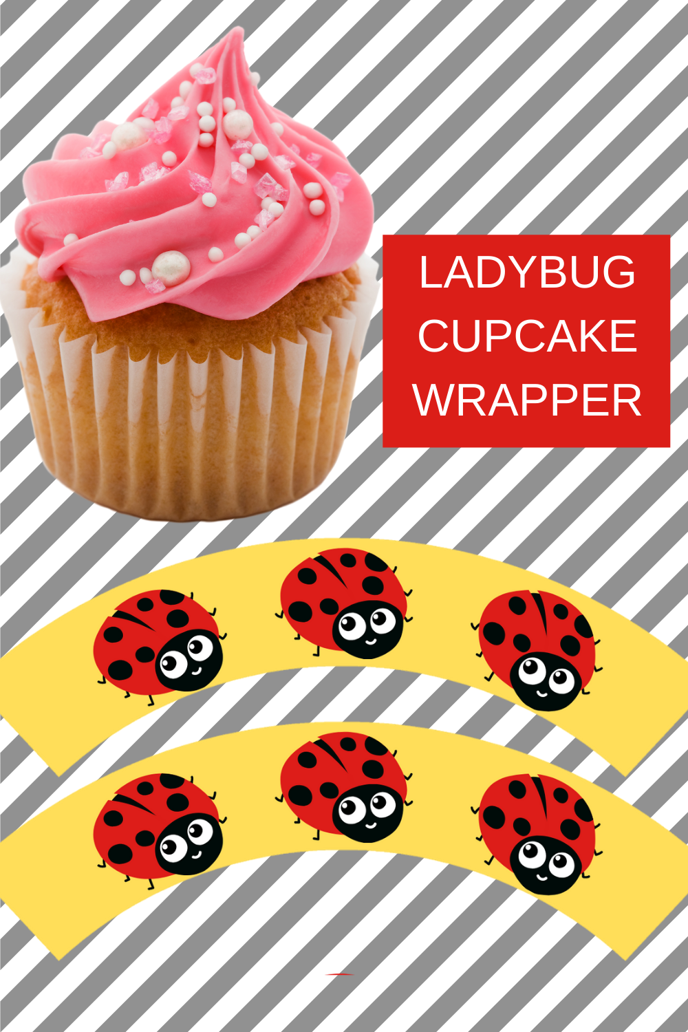 little girl birthday party ideas, cupcake wrapper free printable