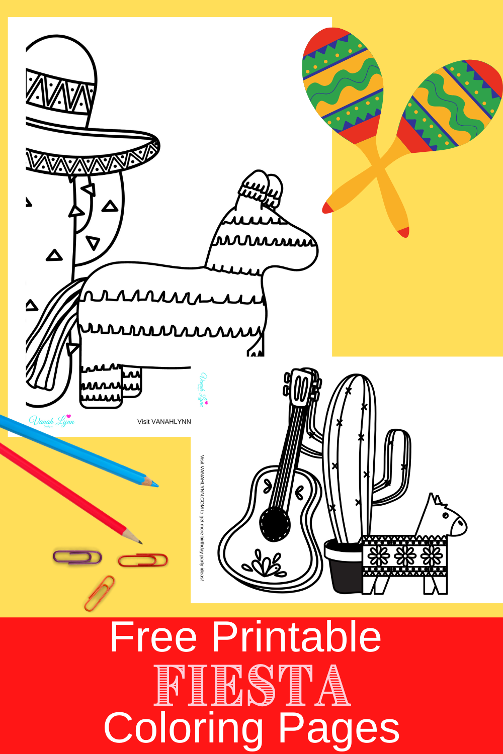 fiesta themed birthday party activities for toddlers