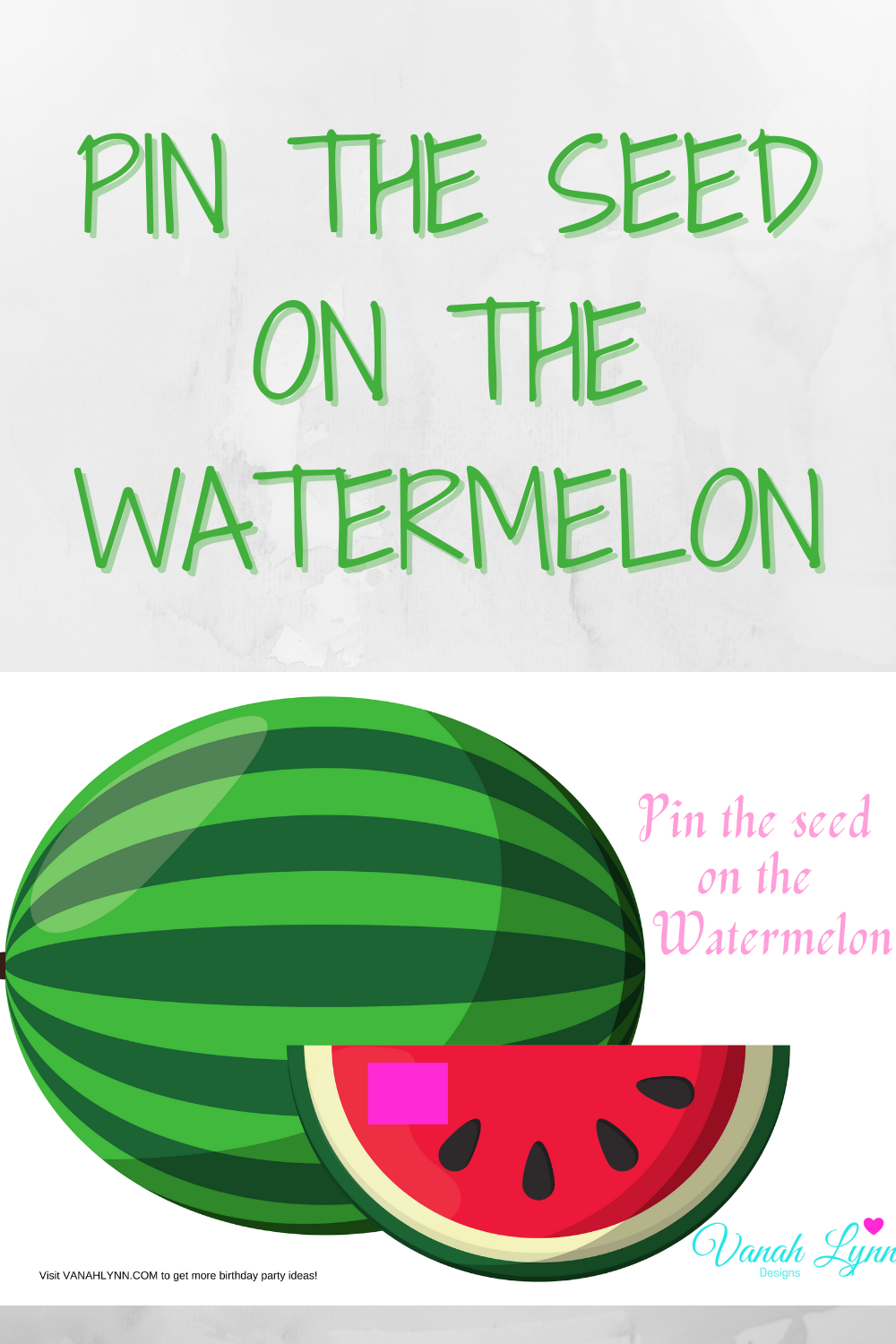 watermelon 1st birthday party ideas for kids