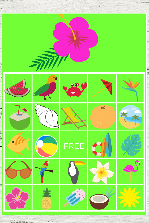 tropical flamingo themed birthday party ideas