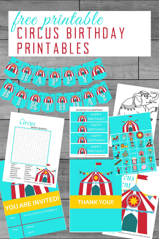 little girls birthday party ideas, free printables