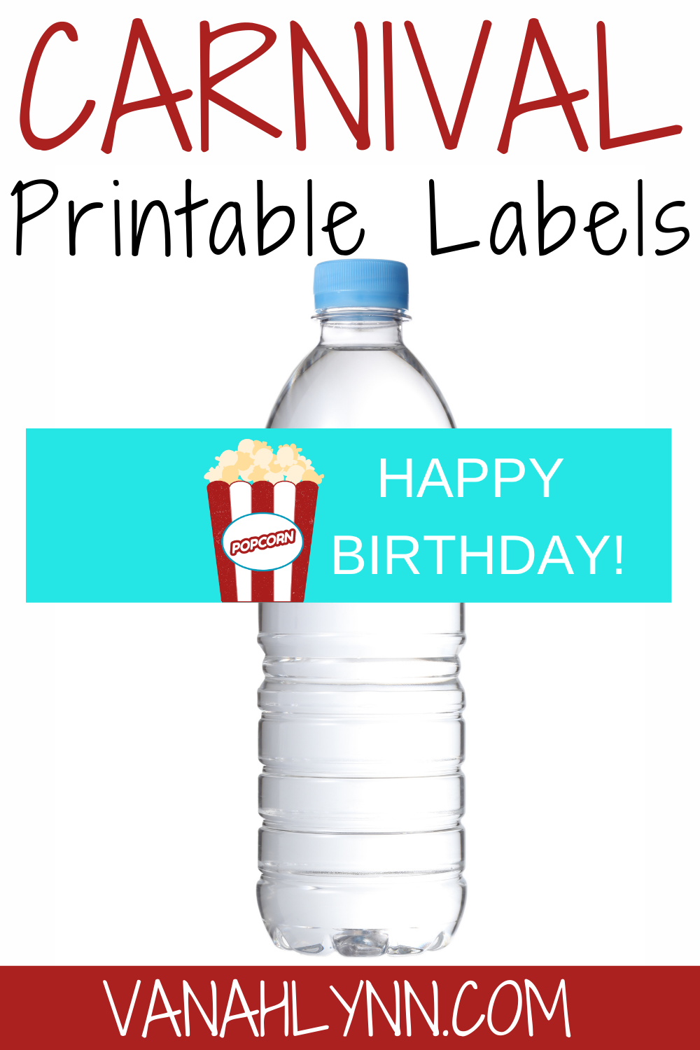 free printable carnival water bottle wrapper