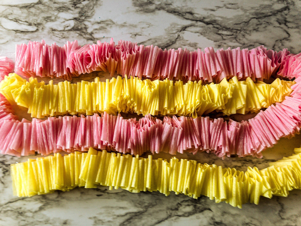 diy decoration ideas with crepe paper