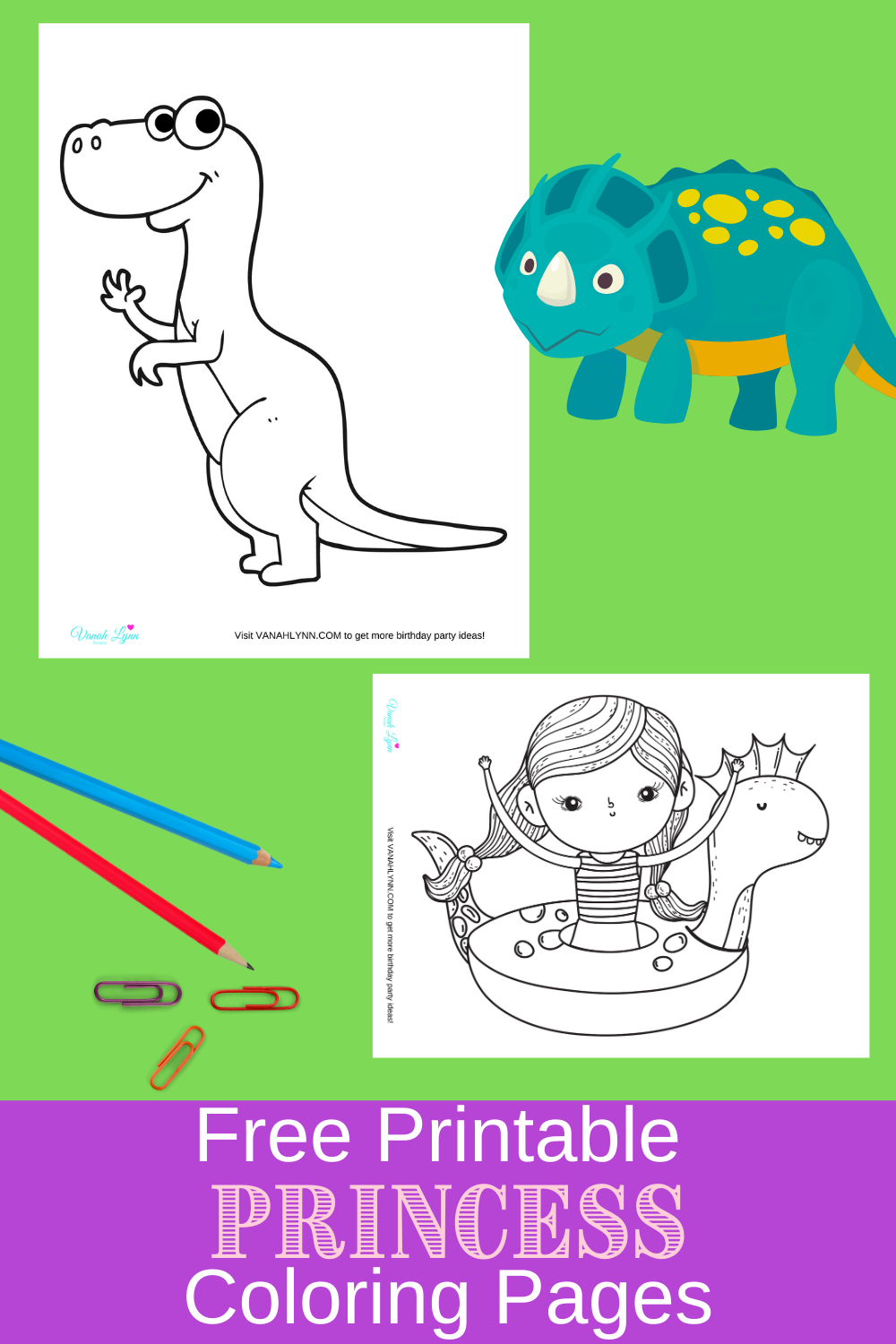 dinosaur activity sheets for a birthday party