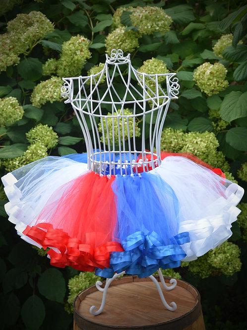 4th of july tutu skirt