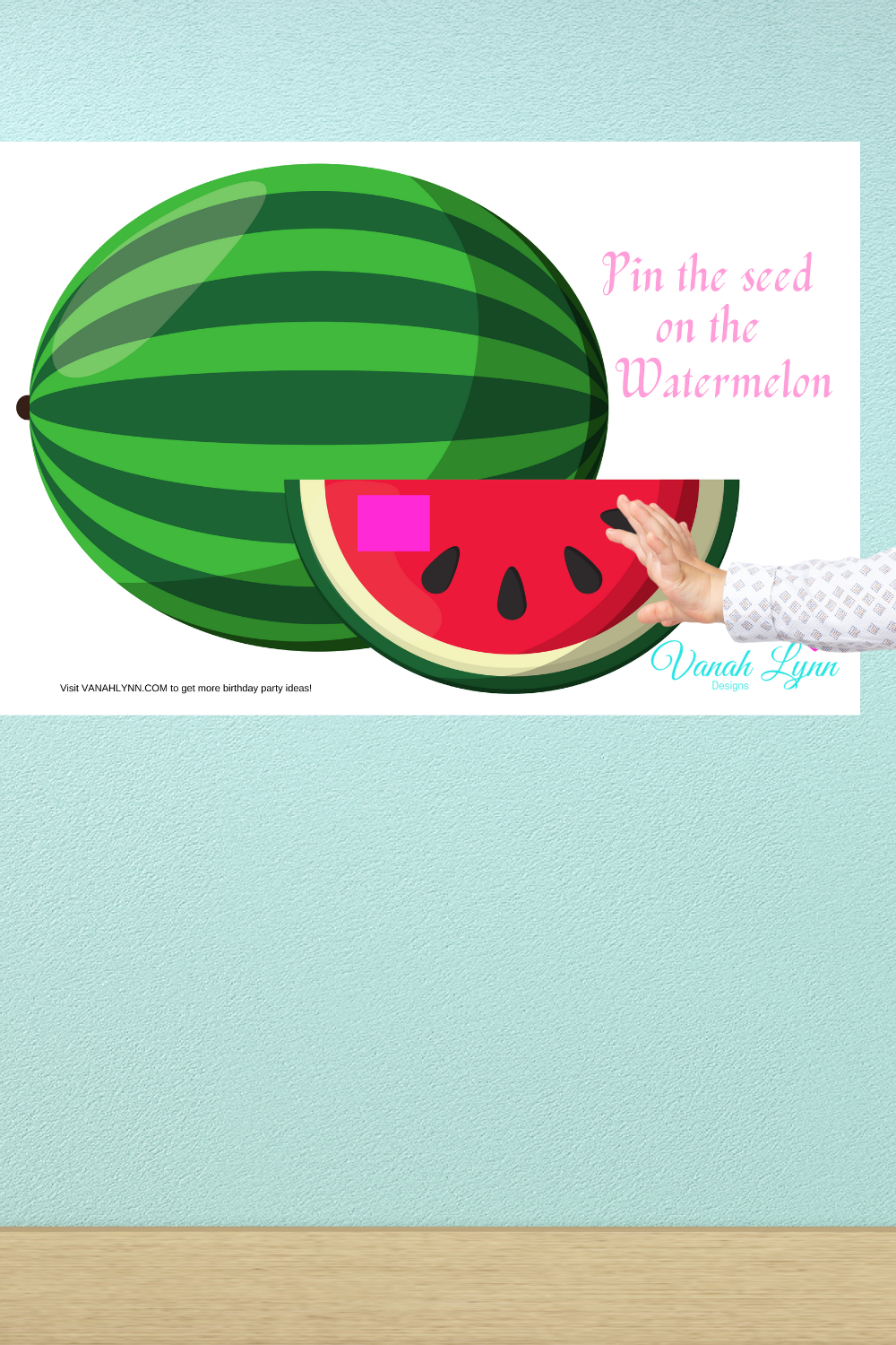 little girls birthday party activities for a watermelon party