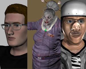 3Black Dot Characters - Dead Realm / PC