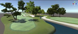 PGA tour - AR Environment and Golf App- Unity