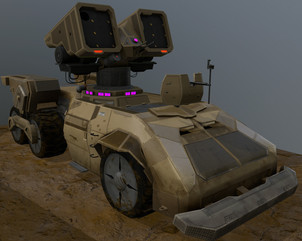 Sci-Fi Tank - Personal project