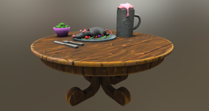Stylized VR props for Worthington and Blu