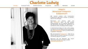 Wienerliedsängerin Charlotte Ludwig