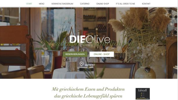 """Griechisches Restaurant """"Die Olive"""""""