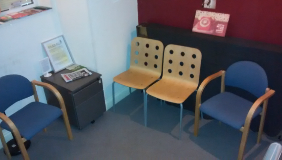 Downstairs Waiting Area Counselling Centre