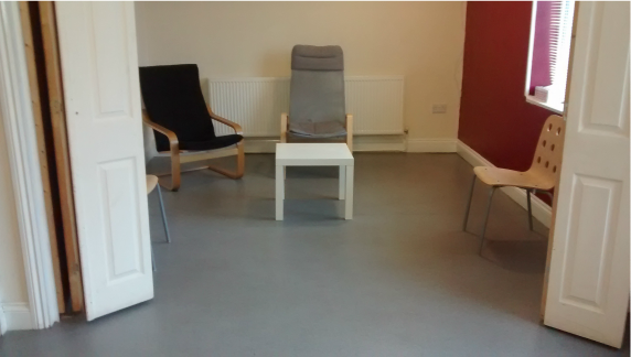 Downstairs of the Counselling Centre