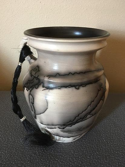 Custom Horse Hair Pottery-Medium