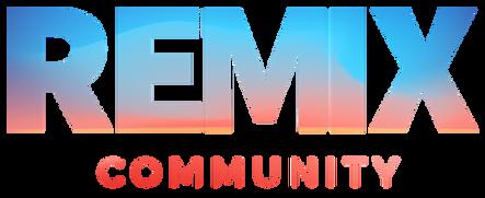 Nous faisons partie de la Communité REMIX
