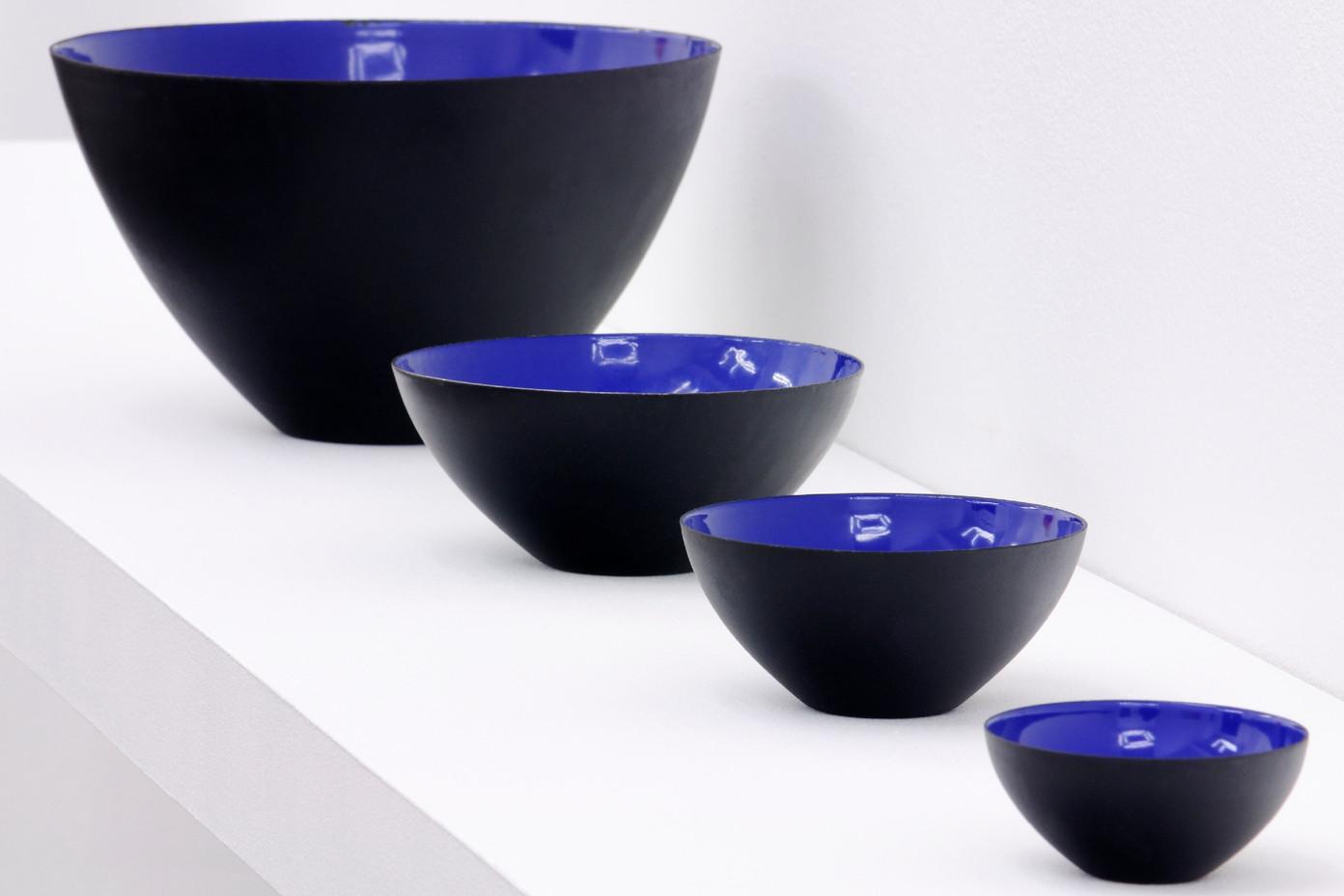 Krenit bowls   blue