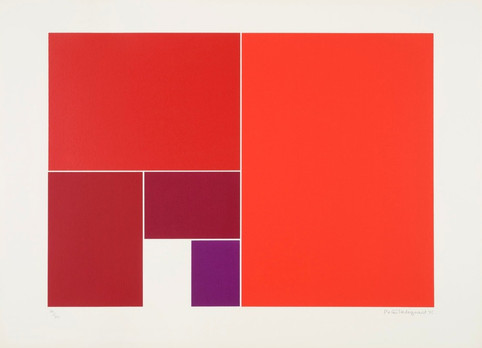 Colour sequence [red to mauve]