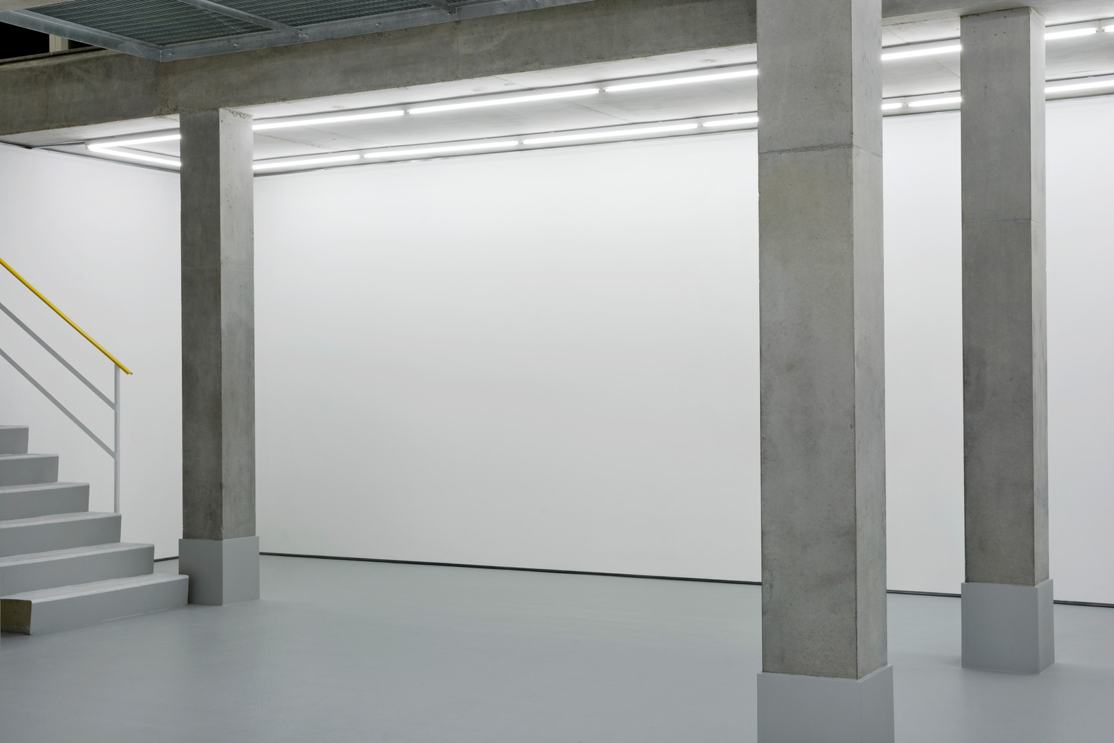 main gallery space