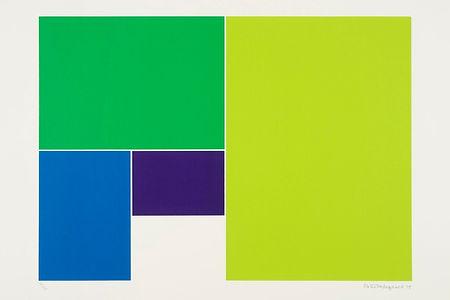 Peter Hedegaard, screenprint, Rocket Gallery