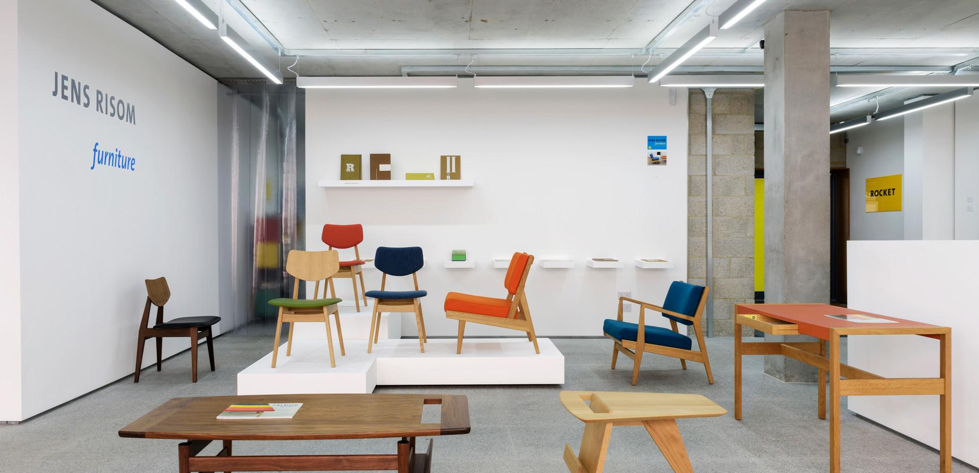 Risom Furniture showroom