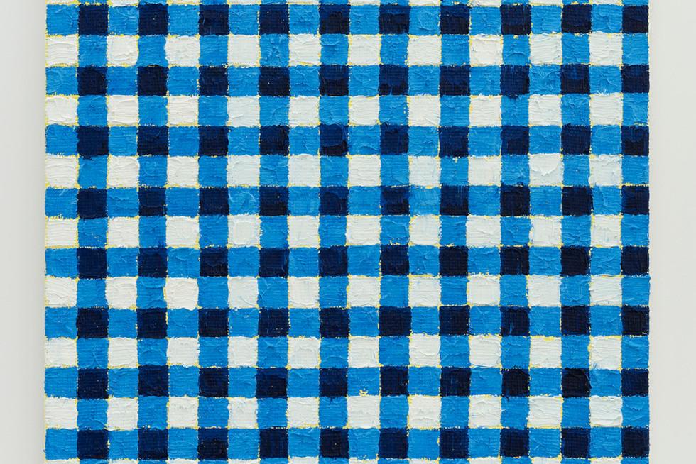 Michelle Grabner | Ultramarine blue | yellow