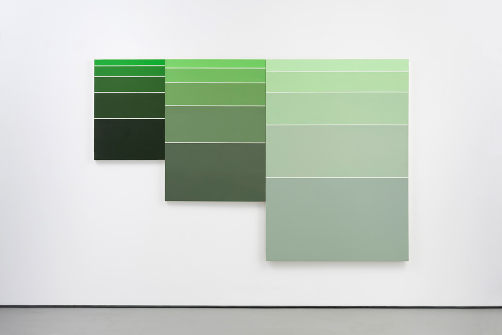 Rectangles [green to grey]