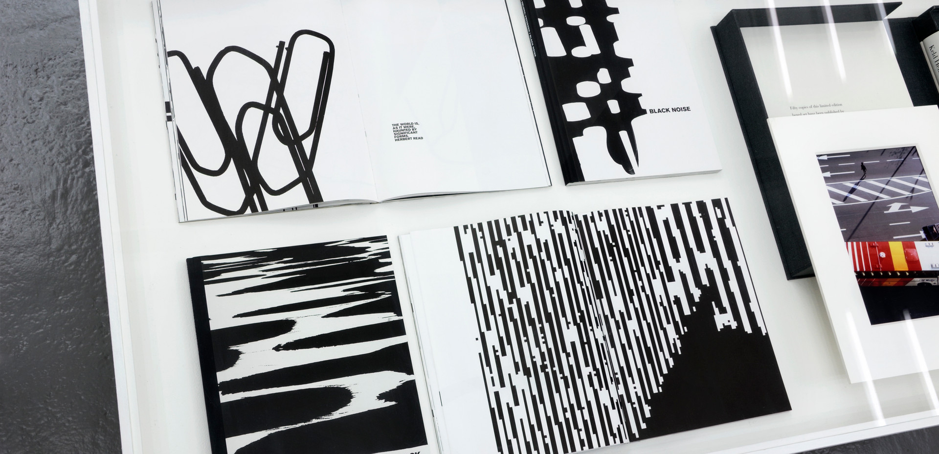 Black & white photography books