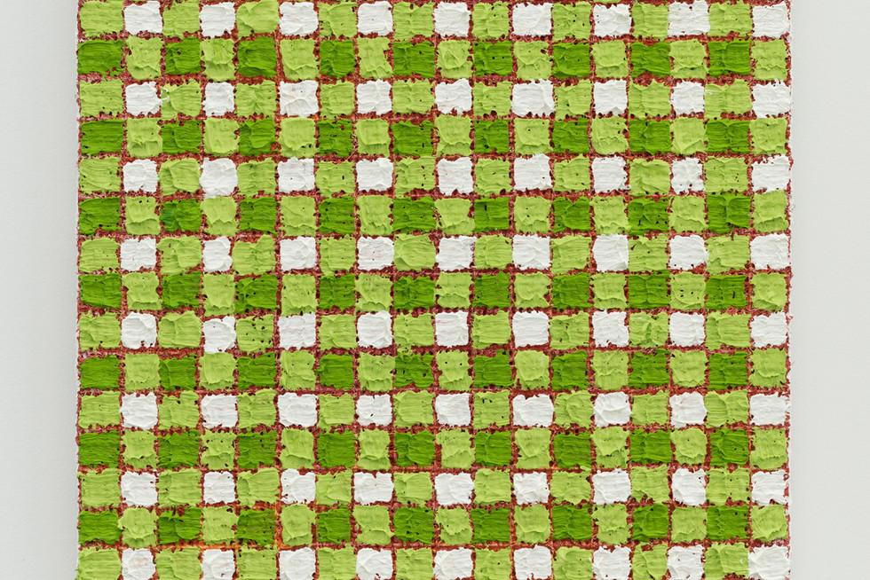 Michelle Grabner | Sap green | red
