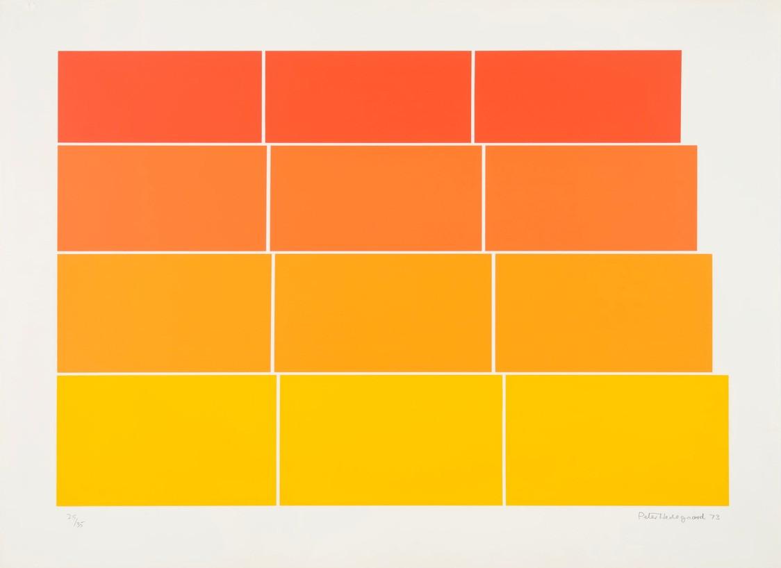 Graded steps [yellow/orange/red]