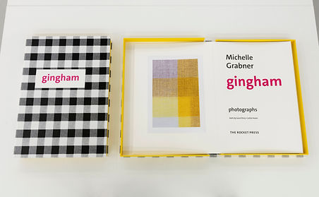 Michelle Grabner, Gingham, Rocket, The Suburban, James Cohan