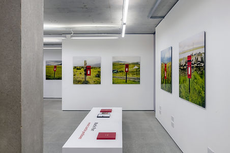 Martin Parr, Remote Scottish Postboxes, Rocket Gallery
