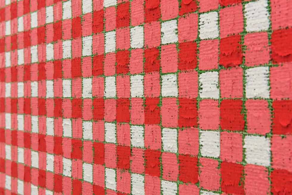 Michelle Grabner | Cadmium red | light green
