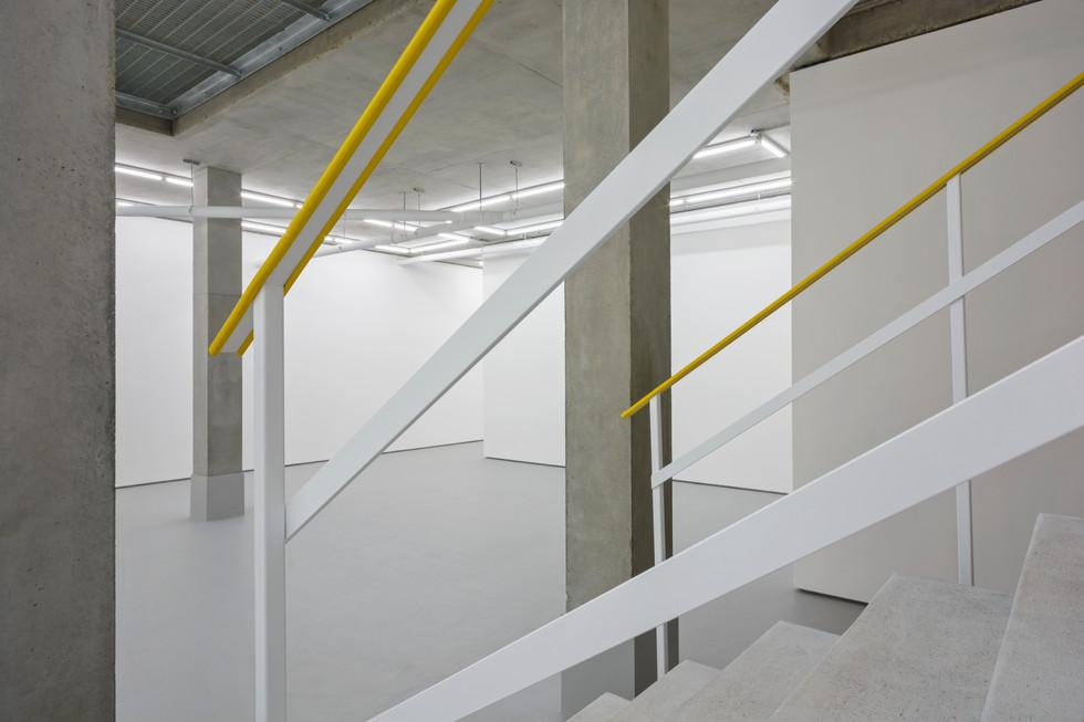 Rocket studio entrance staircase