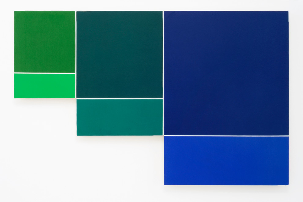 Rectangles [green to blue]
